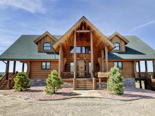 New Listing! Luxuriously Rustic 4BR Atwood Cabin on 80 Acres w/Stone Fireplace, Huge Wraparound Deck & Panoramic Nature Views - Easy Access to Excellent Hunting Opportunities, Swanson Reservoir & More! - Atwood vacation rentals