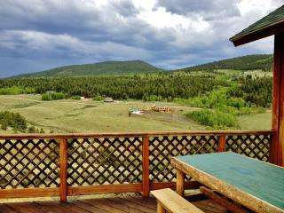 2BR Cabin in Ranch of the Rockies on 4 Acres w/ Great Wifi, Huge Deck & 360-Degree Mountain Views - 15 Miles from Buena Vista! - Hartsel vacation rentals