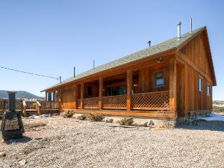 10% Discount on Summer Bookings Through August! 2BR Cabin in Ranch of the Rockies on 4 Acres w/Huge Deck & 360-Degree Mountain Views - 15 Miles from Buena Vista! - Hartsel vacation rentals