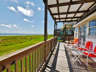 Sunny 3BR Galveston Beach House w/Wifi, Private Porch & Unobstructed Ocean Views - Steps to the Water & Close to Numerous Fun Attractions! - Galveston vacation rentals