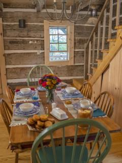 Hewn Log Cabin in Storybook Setting - West Union vacation rentals