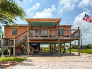 Quiet 3BR Port O'Connor House w/Large Deck, BBQ Pit, Outdoor Shower & Fishing Table - Less Than 2 Miles from the Beach, Fishing Areas & Shops! - Port O Connor vacation rentals