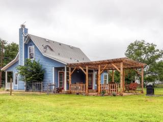 'The Blue Cottage Inn' Charming 3BR Blanco Cottage w/Wifi & Large Backyard – Close to Hill Country Wineries, Water Activities, Hiking & More! - Blanco vacation rentals