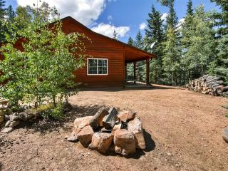 Quiet & Relaxing 2BR Como Cabin w/Wifi, Lovely Private Porch & Serene Forest Views - Easy Access to Hiking + Biking Trails, Fairplay, Buena Vista, Breckenridge & Much More! - Como vacation rentals