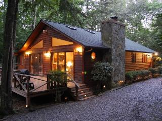 5.5 Acre Creek Front Cabin & Free Wifi Internet - Murphy vacation rentals