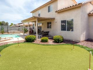 Exquisite 4BR Goodyear House w/Private Outdoor Pool, Putting Green, Wifi & Game Room - Near Baseball Spring Training, Nascar Track, Arizona Cardinals Stadium & More! - Goodyear vacation rentals