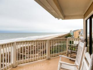 Sunny 2BR Surfside Beach Condo w/Wifi & Breathtaking Ocean Views - Steps to the Beach & Close to Golfing, Restaurants, Shopping & More! - Surfside Beach vacation rentals