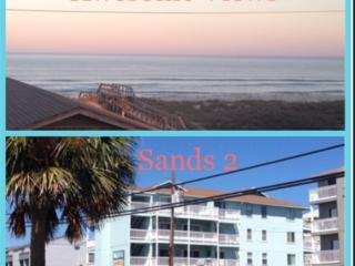 2 BR Condo with Ocean & Lake views - Sands II - Carolina Beach vacation rentals