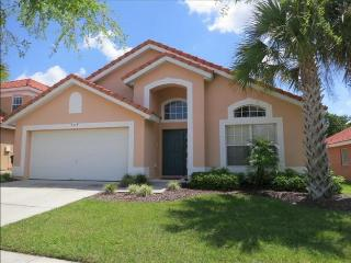 Enjoy this affordable 4 bedroom pool home with no rear neighbors is just 10 miles to Walt Disney World. - Loughman vacation rentals