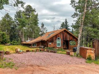 'Starry Nights' Rustic 3BR Cabin (2BR + Studio 1BR Cabin) Green Mountain Falls Wifi, Large Kitchen & Beautiful Mountain Views. Close to Pikes Peak, Co Springs & Outdoor Activities! - Green Mountain Falls vacation rentals