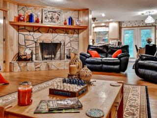 'Lavinder Laurel Leaf Cottage' Secluded 2BR Lakemont Home w/Big Stone Fireplace, Huge Porch & Serene Creek Views - The Perfect N - Lakemont vacation rentals