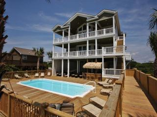 Oceanfront - 16 Bedrooms / 18 Bath-Sleeps 32 To 60 - North Topsail Beach vacation rentals