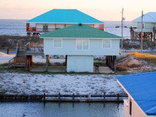 Young's by-the-Sea! Own  Dock on the Boat Canal, yet just across the Street from the Gulf Beach - Dauphin Island vacation rentals