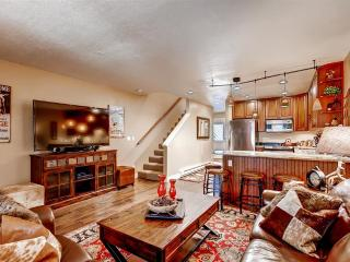 Peaceful & Relaxing 3BR Breckenridge Townhome w/Wood Burning Fireplace, 2 Large Private Decks & Secluded Forest Views - Near Skiing, Next to Free Shuttle Stop! - Breckenridge vacation rentals