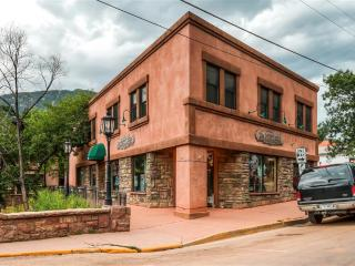 New Listing! Unique & Calming 2BR Condo in Historic Manitou Springs w/Wifi, Private Covered Balcony & Tranquil Creek Views - Near 100+ Shops, Restaurants, Pikes Peak & So Much More! - Manitou Springs vacation rentals