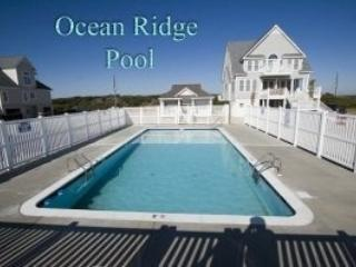 POOL - Ocean Front Home - North Topsail Beach - rentals
