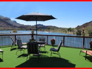 River Front Home w/Private Boat Ramp Pontoon Dock - Parker Dam vacation rentals