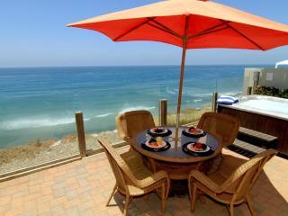 Oceanfront Single Family Home, Spa, F/P  E693-0 - Encinitas vacation rentals