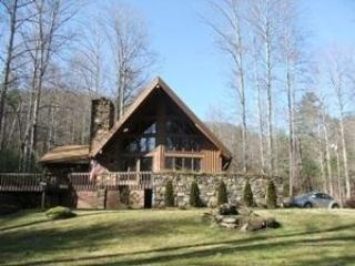 4 BR 3 full bath lovely setting - Hawk's View Chalet - hot tub, pool, creek & views! - Weaverville - rentals