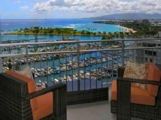 Comfortable Lanai Furniture - Direct Oceanfront Waikiki Condo - Pure Luxury - Honolulu - rentals