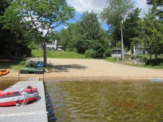 Sebago Lake 120' Pristine Association Beach - Sebago vacation rentals
