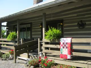 Welcoming, well appointed country log cabin - Stewart vacation rentals