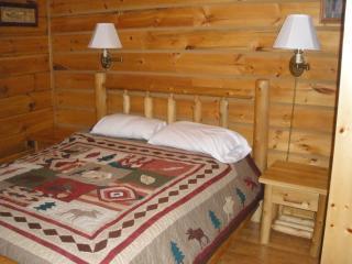 Vacation Log Cabin Style Villa Warrens, Wisconsin - Warrens vacation rentals