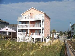 Oceanfront Duplex Condo - Near Boardwalk - Carolina Beach vacation rentals