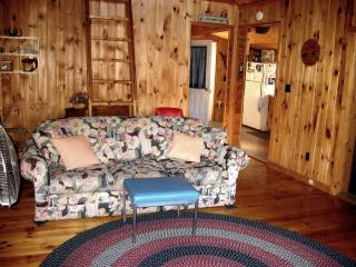 Cozy cottage on quiet pond, perfect getaway - Turner vacation rentals
