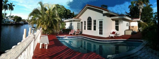Villa Coral Ridge ;Heated Pool;deck;ocean access - Image 1 - Fort Lauderdale - rentals