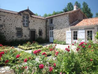 Gîte haut de gamme pour 10 personnes au Vieux Château de Poiroux en Vendée. - Poiroux vacation rentals