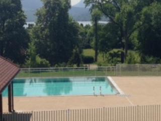 Vue sur lac et montagne avec piscine-haut standing - Annecy-le-Vieux vacation rentals