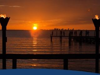 Waterfront Faboulous 2 bdr.1.5bth.Town House w. Private Beach U-429, Tampa Bay - Apollo Beach vacation rentals