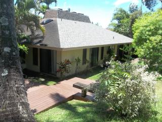 SECLUDED FAMILY FRIENDLY HOME - Princeville vacation rentals