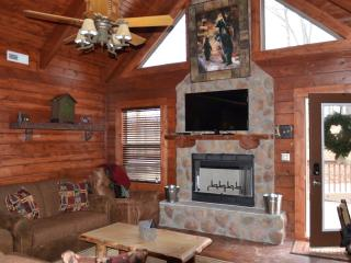 Amazing 3 bd 3 bth cabin hottub,fireplace SPECIALS - Ridgedale vacation rentals