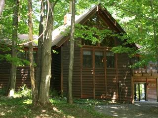 Crystal Mountain 6 Bedroom 3 Bath Log Cabin - Thompsonville vacation rentals
