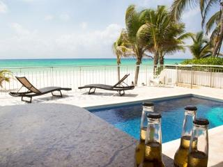Beautiful 4 Beds Ocean Front Private Home - Playa del Carmen vacation rentals