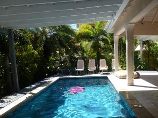 Caribbean style, with lovely small garden & pool - Jolly Harbour vacation rentals