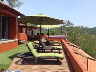 5BR Villa in La Casa Que Ve Al Mar-200m to La Ropa - Zihuatanejo vacation rentals