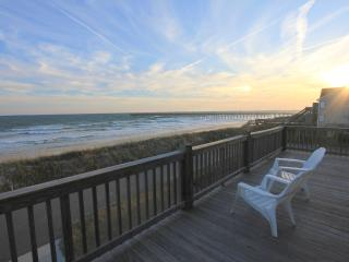 Amazing Ocean Views, 3 Levels of Living Space! - North Topsail Beach vacation rentals