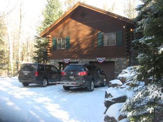 Wooded log home nestled in the Adirondacks - Saranac Lake vacation rentals