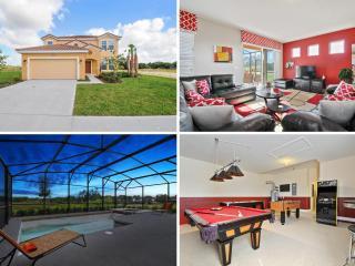 Relaxing 6bd luxury Orlando villa POOL&GAMES- 4115 - Davenport vacation rentals