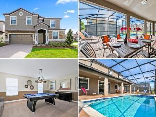 Prestigious 8bd Disney home w/POOL& GAMES- 1465 - Davenport vacation rentals