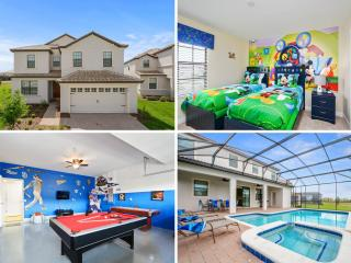 Beautiful Orlando villa w/Pool & Games -1439 - Citrus Ridge vacation rentals