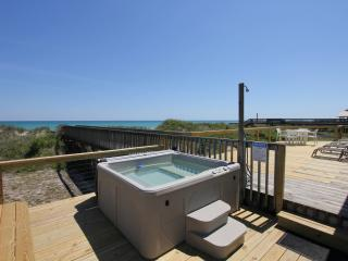 6/18-25 REDUCED Beach Front, Hot Tub, Screen Porch - North Topsail Beach vacation rentals