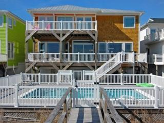 SANDCASTLE IS A 5 BR OCEANFRONT HOUSE WITH POOL - Kure Beach vacation rentals