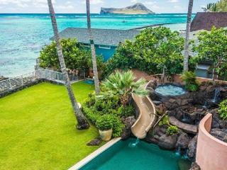 Beachfront Pearl Estate - beachfront home w/ pool - Waimanalo vacation rentals