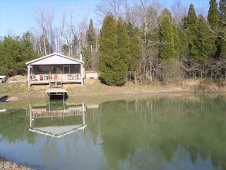 Whitetail Cabin-Located on 68 Private Acres - Derby vacation rentals