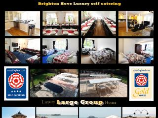 4 Star Gold 9 Bed BIG Holiday Home BRIGHTON UK - Hove vacation rentals
