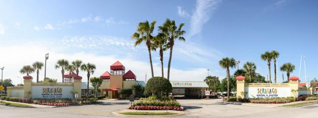 Hotel Front View - Seralago Hotel & Suites Main Gate East, Kissimmee - Kissimmee - rentals